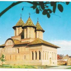 Carte postala(ilustrata)-TARGOVISTE-Biserica Curtii Domnesti