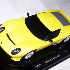 ELITE Lamborghini Miura concept galben 1:43 - Macheta auto Hot Wheels
