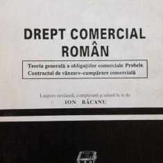 DREPT COMERCIAL ROMAN - I. L. Georgescu - Carte Drept comercial