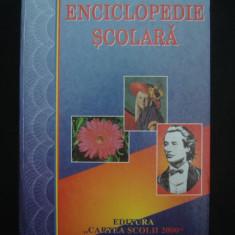 ENCICLOPEDIE SCOLARA {1998} - Dictionar