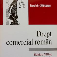 DREPT COMERCIAL ROMAN - Stanciu D. Carpenaru (editia a VIII-a), Alta editura