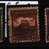 1926 cehoslovacia mi. 247-249 conditie**