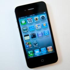 VAND iPhone 4 Apple BLACK IMPECABIL, Negru, 16GB, Neblocat