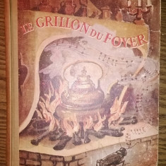 Carte - Charles Dickens - Le grillon du foyer [1946] - Carte veche
