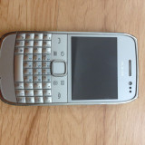 Nokia E6 - Telefon mobil Nokia E6, Argintiu, Neblocat