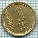 2787 MONEDA - REPUBLICA ARGENTINA - 1 PESO - anul 1974 -starea care se vede