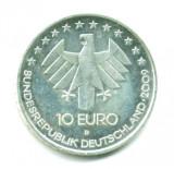 GERMANIA 10 EURO 2009 LITERA D 100 ANI AVIATIE ARGINT  STARE EXCELENTA
