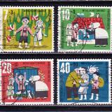 Timbre GERMANIA 1961 - FABULE SI BASME DE FRATII GRIMM - Timbre straine