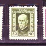 1925 cehoslovacia mi. 221-223 conditie**