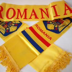 ROMANIA cu STEMA esarfa fular tricolor steag RO15 - Fular Barbati