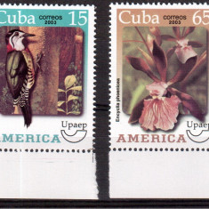 CUBA 2003 Fauna-Flora, serie neuzata, MNH - Timbre straine, Nestampilat