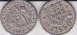 PORTUGALIA  2,50 ESCUDOS 1963, Europa
