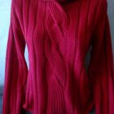 Pulover dama, marca ONLY, mar. M, culoare rosu