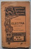 Sofocle - Electra editie veche, Alta editura
