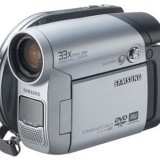 Camera video SAMSUNG VP-DC163, stare perfecta + geanta transport, 2-3 inch, DVD, CCD, 30-40x