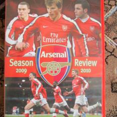 ARSENAL - sezonul fotbalistic 2009-2010 - DVD original din Anglia - in stare impecabila!!! - Film documentare, Engleza