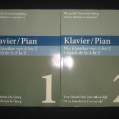 MARGARETE BABINSKY - PIAN * CLASICII DE LA A LA Z 2 volume {editie bilingva}