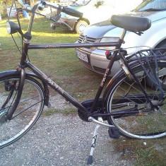 Vand bicicleta Sparta - Bicicleta de oras, 26 inch, Numar viteze: 3, Negru, Discuri, Drept(Flatbar)