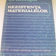 REZISTENTA MATERIALELOR GH.BUZDUGAN - Carti Mecanica
