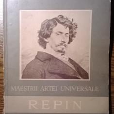 Carte - Maestrii artei universale - Repin - Album Arta