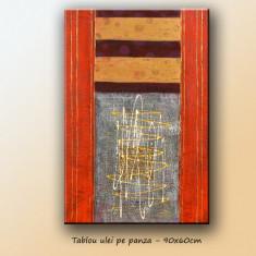Tablou Abstract 11 - ulei pe panza 90x60cm - LIVRARE GRATUITA 24-48h