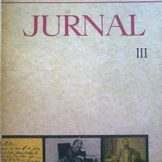 Titu Maiorescu - Jurnal si epistolar vol. III - Roman
