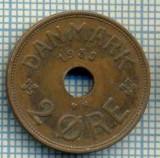 2888 MONEDA - DANEMARCA - 2 ORE - anul 1938 -starea care se vede