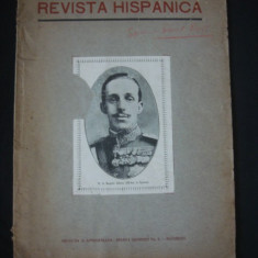 REVISTA HISPANICA * ANUL I 1928 {bilingva spaniola romana}