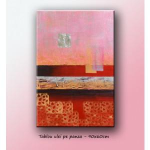 Tablou Abstract 20 - ulei pe panza 90x60cm - LIVRARE GRATUITA 24-48h