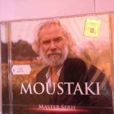 GEORGE MOUSTAKI - BEST OF (MASTER SERIE)-(2003/UNIVERSAL MUSIC) - cd nou/sigilat, universal records
