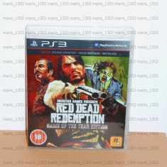 Joc PS3 - Red Dead Redemption : Game of the Year Edition ( GOTY ) - Jocuri PS3, Shooting, 18+