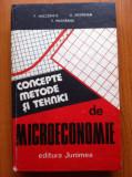 CONCEPTE, METODE SI TEHNICI DE MICROECONOMIE - MALCOMETE, Medrihan, Munteanu, Alta editura