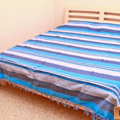 Cuvertura 100% Bumbac. Pentru pat Dublu, - 220 cm / 250 cm. Model 17 - Cuvertura pat