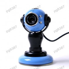 Camera Web, webcam, cu iluminare LED, microfon incorporat - 114606