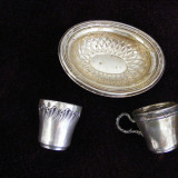 Lot obiecte argint