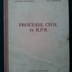 Procesul civil in R.P.R. - 1957 - Carte Drept civil