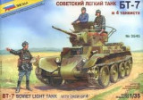 + Macheta Zvezda 3545 1:35 - BT-7 Soviet Light Tank with Crew +