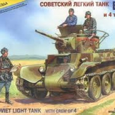 + Macheta Zvezda 3545 1:35 - BT-7 Soviet Light Tank with Crew + - Macheta auto