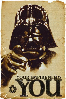 Poster - YOUR EMPIRE NEEDS YOU 60,96-91,44 foto