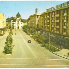 Carte postala(marca fixa)-PLOIESTI-Palatul de justitie - Carte Postala Muntenia dupa 1918, Circulata, Printata