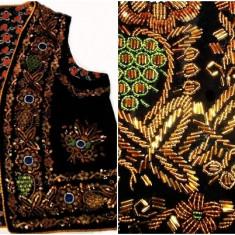 Vesta populara (ilic) - Costum populare, Marime: L, Culoare: Negru, L, Negru