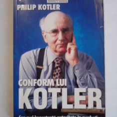 Conform lui Kotler - Philip Kotler / C12G - Carte Marketing
