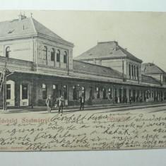 SATU MARE - GARA - ANUL 1901