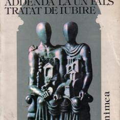 Horia Zilieru-Addenda la un fals tratat de iubire
