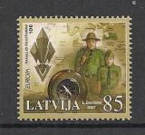 Letonia.2007 EUROPA:Cercetasie    SL.261, Nestampilat