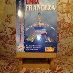 """Rodica Mladinescu - Limba franceza man pt cls a IX a Anul IV de studiu """"7147"""", Clasa 9, Alta editura"""