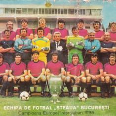 Poza imagine Steaua Bucuresti cu semnaturile jucatorilor