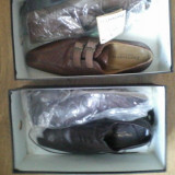 Pantofi Pantanetti - Pantof barbat, Marime: 41, Culoare: Negru, Negru