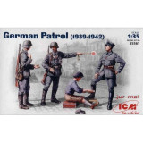 + Macheta ICM 35561 1:35 - German Patrol 1939-1942 +