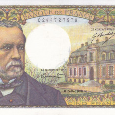 Bancnota Franta 5 Franci 1969 - P146b aUNC ( foarte frumoasa; catalog $350)